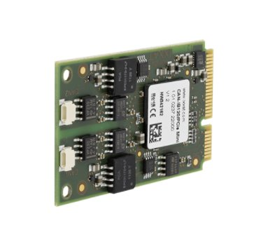 CAN-IB120/PCIe Mini, 2 x CAN Interface High-Speed, galvanicka izolace 1kV