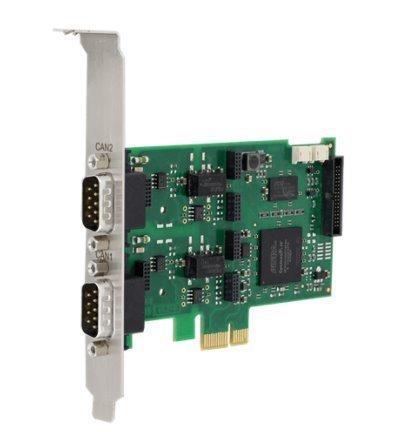 CAN-IB200/PCIe PC/2x CAN interface board