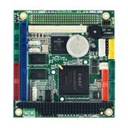 PC/104 SBC, Vortex86DX/800, 256MB, 3x RS232, 1x 232/422/485, VGA+LCD, 1x LAN, USB, LPT, GPIO, CF, 16xPWM, Audio