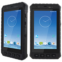 "Robusní PDA 5"", ARM®Cortex™-A53 1.3GHz, Android 5.1, Wi-Fi/ Bluetooth 4.0/ GPS / LTE, IP65"